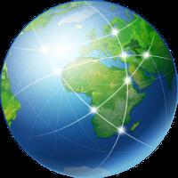 Globus-Netzwerk-Icon