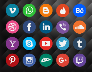Soziale-Medien-Icon