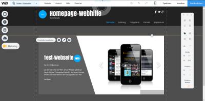 Wix-Screenshot