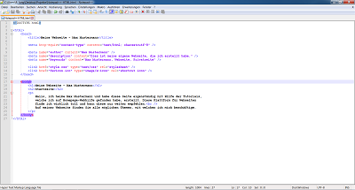 Notepad++-Screenshot