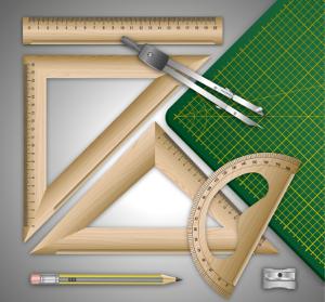 Vermessungswerkzeug-Grafik