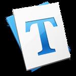 Schrift-Icon